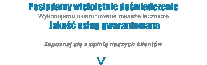 Masaze Lecznicze Kregoslupa Warszawa
